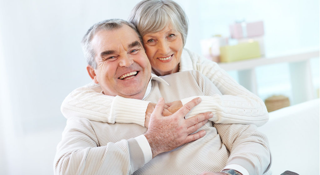 Photo of Old Couple Smiling