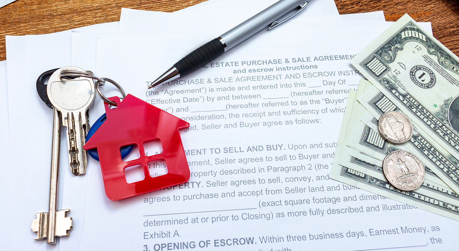 Keys and Property Papers: buy property in Gambia