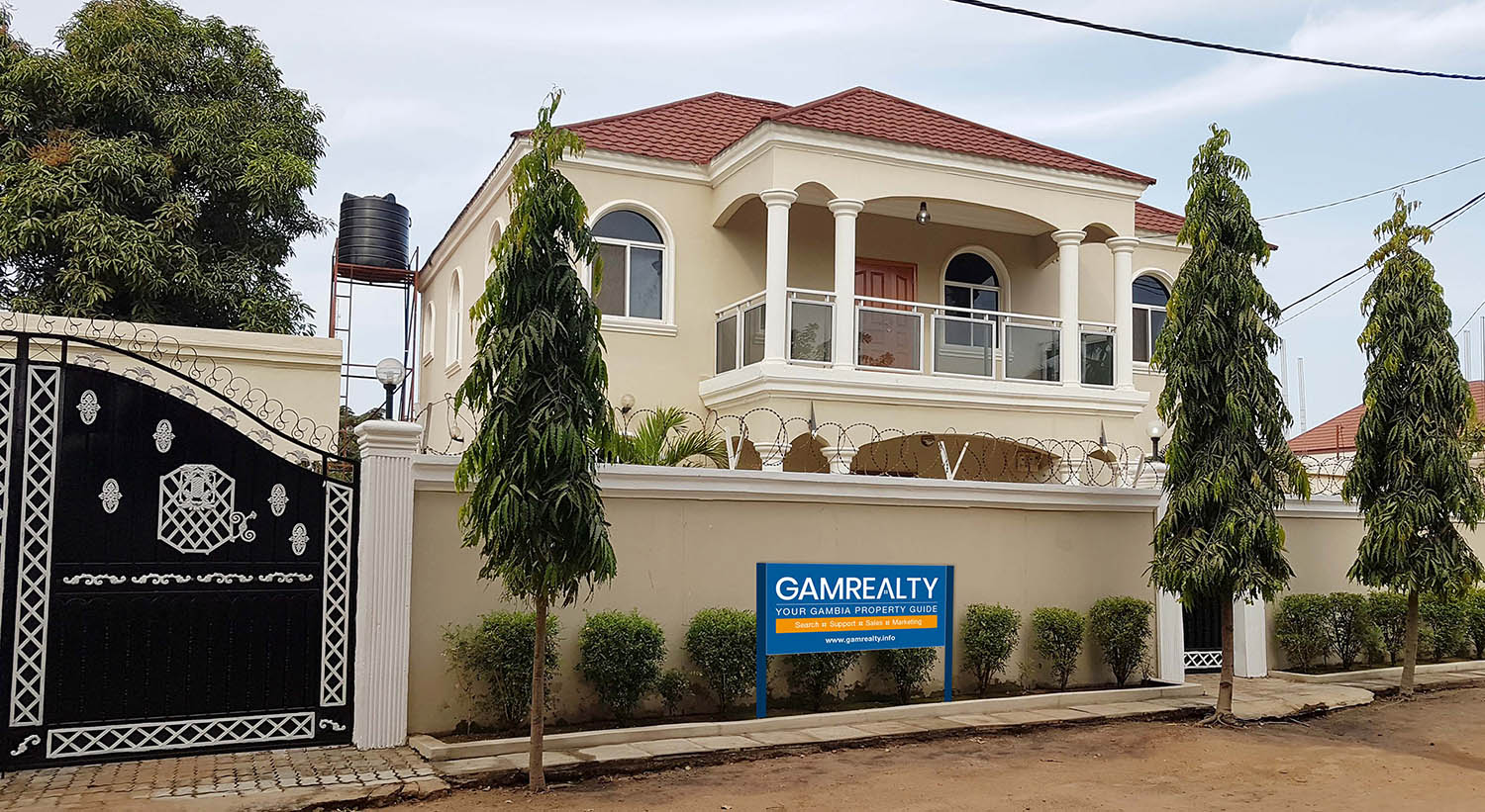 GamRealty head office in the Gambia