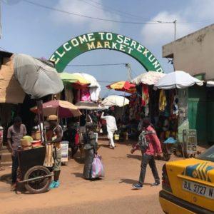 Serekund Market In Gambia