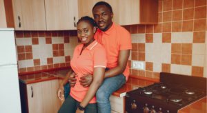 Happy-gambia-couple-in-kitchen