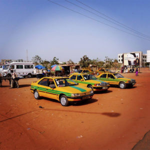 Taxis in Gambia