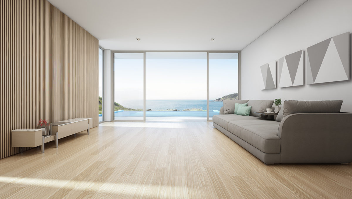 Modern Living Room Seaview