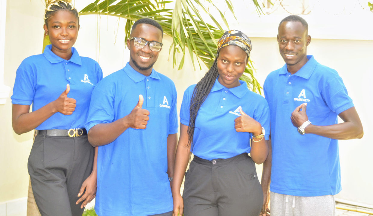 Team GamRealty top real estate agents in the Gambia