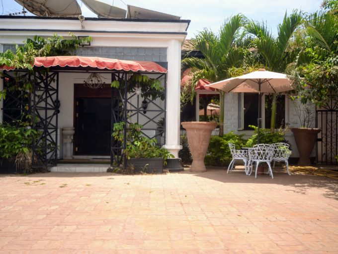 GamRealty | House For Sale in Manjai Kunda | Front Door | The Gambia