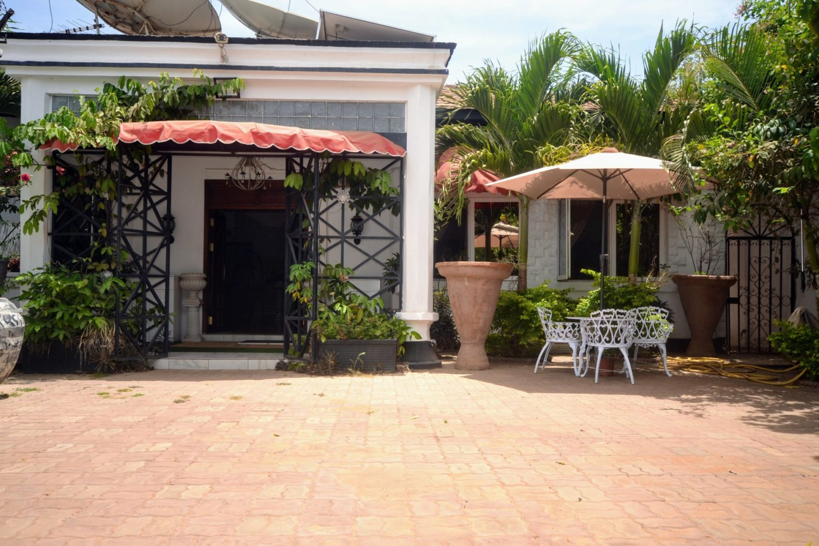 GamRealty | House For Sale in Manjai Kunda | Front Door | The Gambia