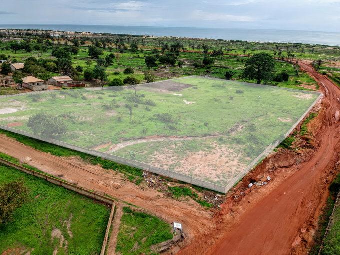 GamRealty | 8 seaview plots | aerial view | Sambujang | Gambia