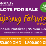 GamRealty Tujereng Fairview land for sale Gambia