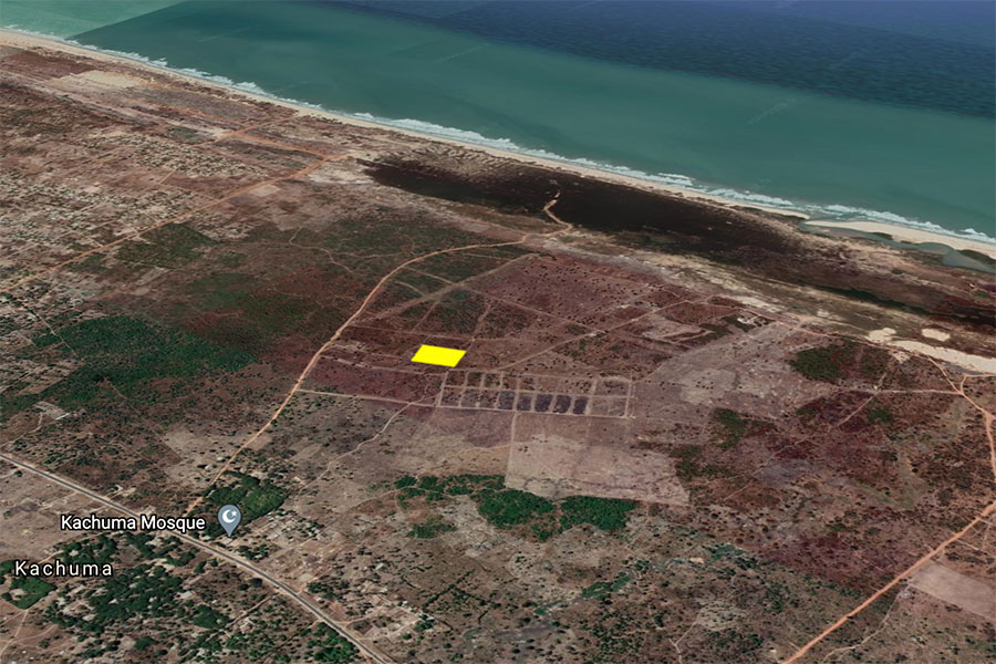 GamRealty buy land in gambia Sanyang 1 hectare with seaview
