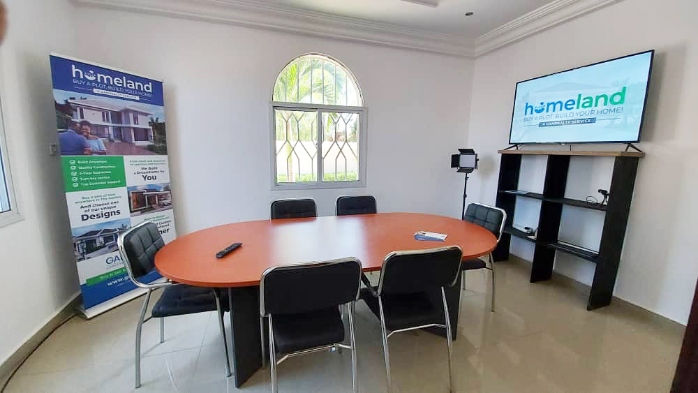 GamRealty conference room Best in Gambia real estate