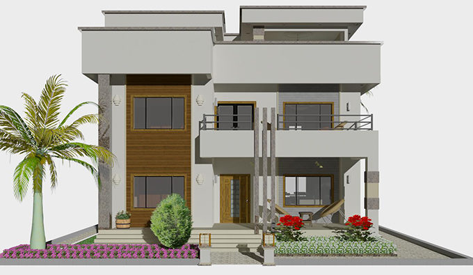 GamRealty Gambia Real Estate new Luxury villa for sale Kerr Sering
