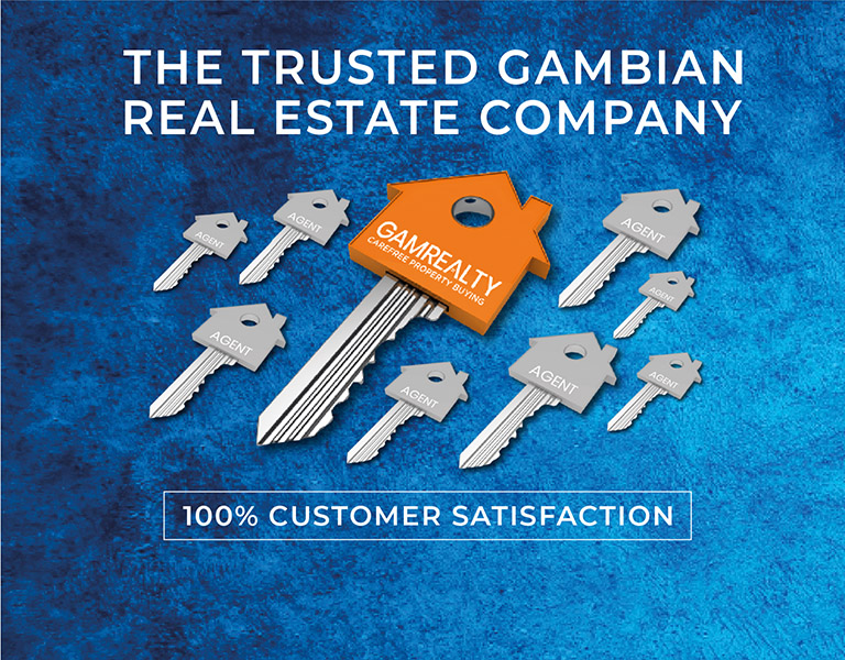 THE TRUSTED GAMBIAN REAL ESTATE COMPANY