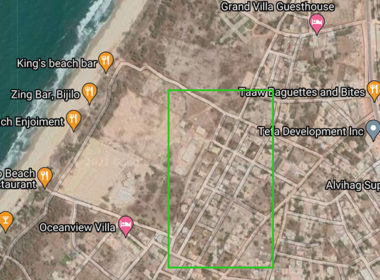 GamRealty plot of land for sale Bijilo Gambia beach front
