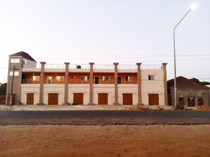 GamRealty Apartment building with shops for sale Brufut Gambia